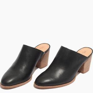 Madewell The Harper Mule Black Size 8